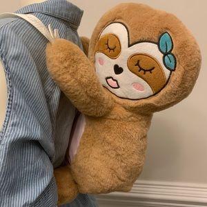 Betsey Johnson Sleeping Sloth Backpack